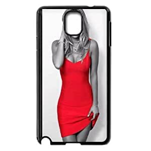 Celebrities Kaley Cuoco In Red Dress Samsung Galaxy Note 3 Cell Phone Case Black DIY GIFT pp001_8002100