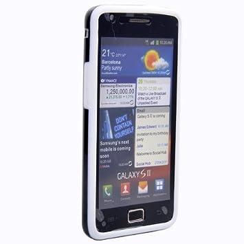 Carcasa con marco protector para Samsung Galaxy S2 i9100 2 ...