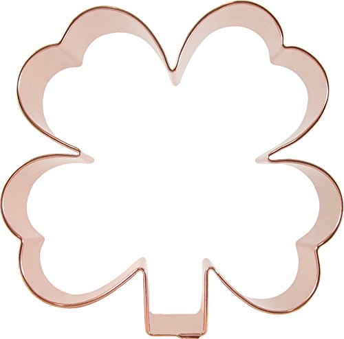 CopperGifts: Clover Cookie Cutter (4-1/2 inch)