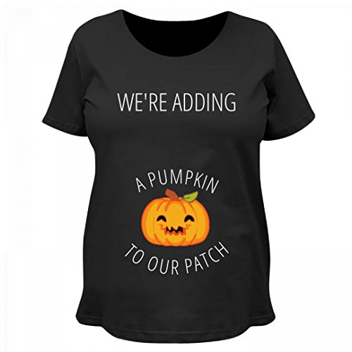 We're Adding A Pumpkin To Our Patch: Maternity Cotton T-Shirt
