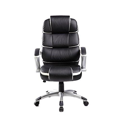 Merax High Back Ergonomic Office Chair Swivel Adjustable Seat Executive Offic