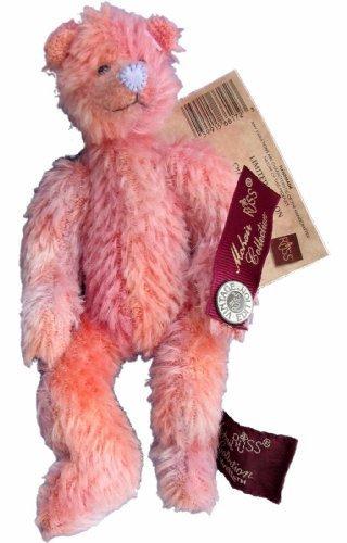 Yvette Pink Mohair Teddy Bear Limited Edition Bears of the (Mohair Teddy Bear)