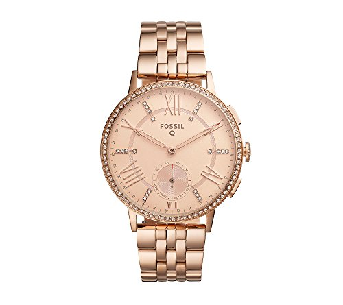 Fossil-Hybrid-Smart-Watch-Q-Gazer-Rose-Goldtone-Stainless-Steel