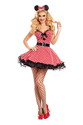 Missy Mouse Adult Costume - Medium ()