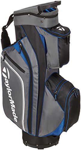 TaylorMade Pro Cart 4.0 Cart Bag 2016 Black/Grey/Blue by TaylorMade