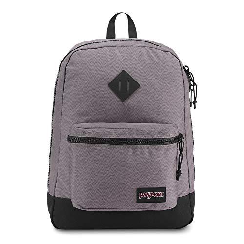 JanSport Super FX Backpack - Grey Optical Zig Zag (Gray Jansport Backpacks For Boys)