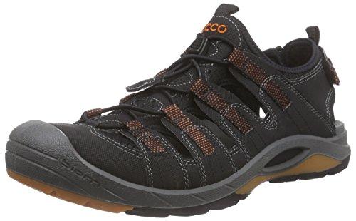 EccoECCO BIOM DELTA - Zapatillas De Deporte Para Exterior Hombre Negro (BLACK/BLACK/PICANTE58692)