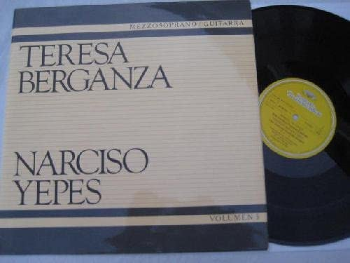 Antiguo Vinilo - Old Vinyl : TERESA BERGANZA, mezzosoprano ...