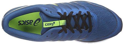 ASICS Gel-Zaraca 4 - Zapatillas de running para hombre Azul (Mosaic Blue/Flash Yellow/Onyx 5307)