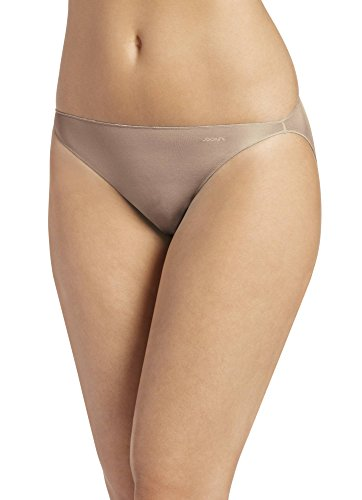 (Jockey Women's Underwear No Panty Line Promise Tactel String Bikini, Light, 7)