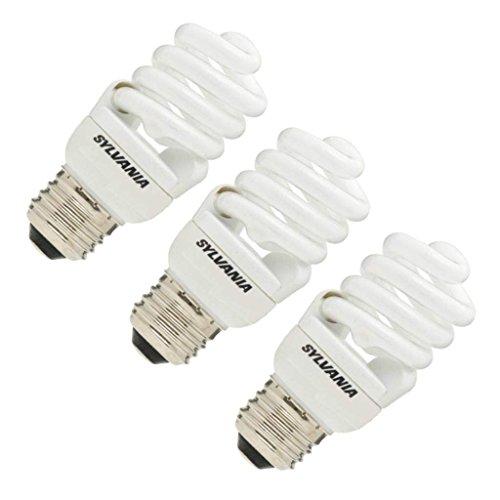 Sylvania 26374 - CF13EL/SPIRAL/835 3-PACK Twist Medium Screw Base Compact Fluorescent Light Bulb