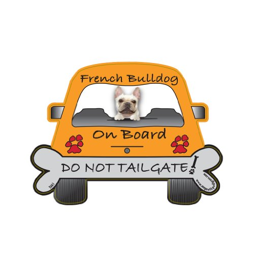Price comparison product image French Bulldog Tailgate Custom Shaped Magnet
