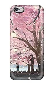 New Style DanRobertse Hard Case Cover For Iphone 6 Plus- Animal Brown Browncherry Blossoms Dog Festival Food Original Petals Shimetta Oshime Tree
