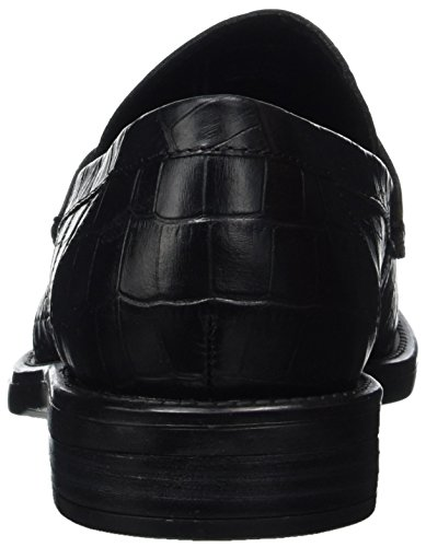 Schwarz Black Amina Vagabond Loafers Femme Mocassins xTPXPI