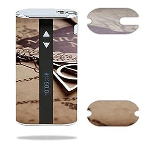 Eleaf iStick 50W Vape E-Cig Mod Box Vinyl DECAL STICKER Skin Wrap / > > > Decal STICKER < < < The Marauders Map Design Print Image