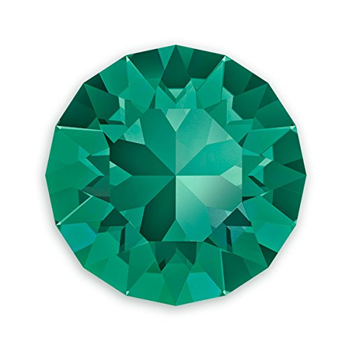 Swarovski Xirius Rose Chatons 1088 6mm Emerald (Package of 5) ()