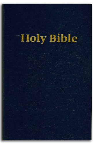 Holy Bible - Easy To Read Version - Large Print - Blue