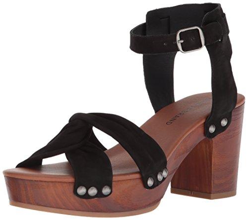 Sandal Black Heeled Brand Lk Whitneigh Women's Lucky wgf4Hg