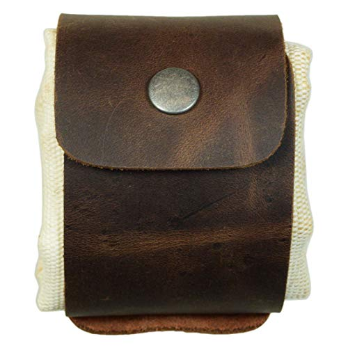 Hide & Drink, Artisan Canvas Foraging Pouch (Collapsible) for Hiking, Treasures & Seashells, Handmade Includes 101 Year Warranty :: Rojo Moreno