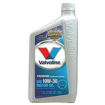 Valvoline vv129 todos clima SAE 10 W-30 (Turbo aprobado) aceite de motor