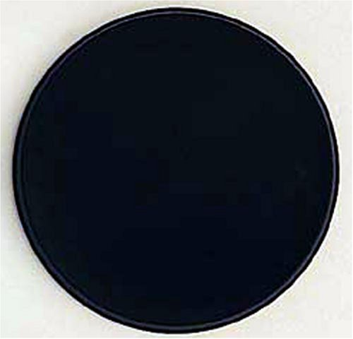 Black Round Kitchen Electric Stove Top Burner Covers