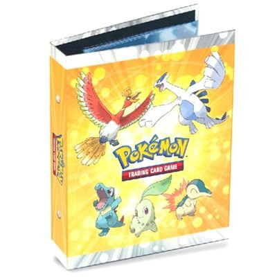 Ultra-Pro 2-Ring Pokemon Card Mini Binder featuring Ho-Oh and Lugia - Includes 14 Four-Pocket Pages (Expandable) LSG 82399 6202399