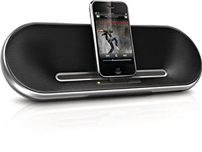 Philips Fidelio Premium DS7550 30-Pin iPod/iPhone Charging Alarm Portable Speaker Dock