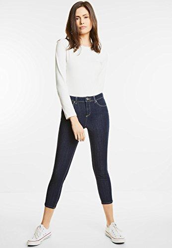 jeans street one 370730 yoko bleu