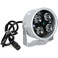 Kize 4LED Infrared Night vision IR Light illuminator lamp 164 Feet for IP CCTV CCD Camera
