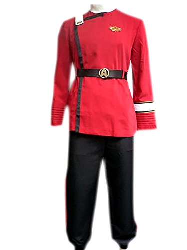 Twok Ii-vi Star Wrath of Khan Uniform Costume Star Fleet Outfit (Twok Star)