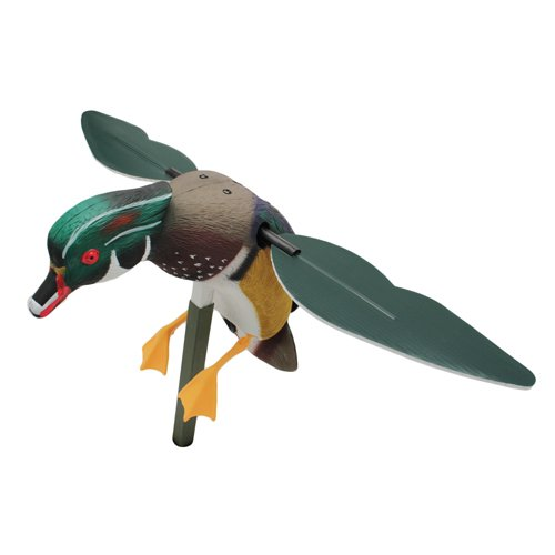 MOJO Outdoors Screamin' Woody Drake Wood Duck Decoy (Wood Decoy)