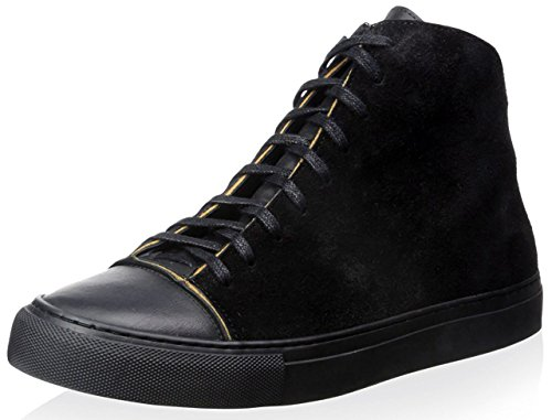 Damir Doma Women's Framio Leather and Canvas High-Top Sneaker (38 IT/8 - Damir Doma Men