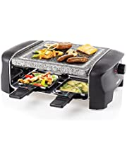 Princess Raclette-oven, stenen plaat, grill party