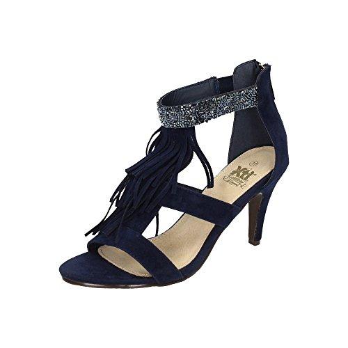 femme femme Bleu sandales sandales Bleu sandales XTI femme XTI XTI XTI Bleu sandales qY0T0P