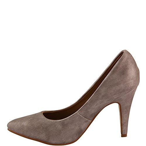 Unbekannt - Zapatos con tacón Mujer Plateado - plateado