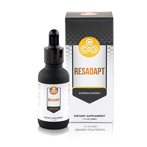 Premium Ashwagandha Herbal Food Supplement Resadapt By Infinite Muscle - Powerful Adaptogenic Herb Extract - Non-GMO - Natural Immune System & Energy Boost - Anti-Stress Action - Thyroid Regulation