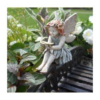 Amazoncom Miniature Fairy Statues Figurines Fairy Garden