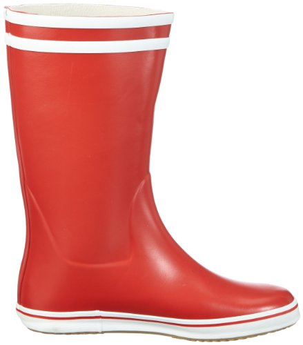 Malouine BT White Women's Boot Aigle Red 6zHqH5