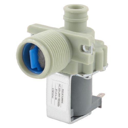 Water & Wood AC 220V-240V 3/4'' PT Male Thread Single Water Inlet Solenoid Valve for Washing Machine by Waterwood