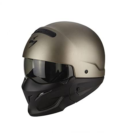 Scorpion Motorrad-Helm Exo-Combat, matt Schwarz, XXL 82-100-10-07