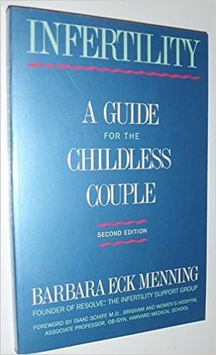 Audio gratuit pour les livres en ligne sans téléchargement Infertility  A  Guide for the Childless Couple by Barbara Eck Menning (1988-02-01) CHM  B01K17AVVY abc489904d6