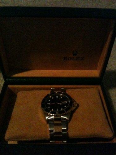 Rolex Submariner Black Index Dial Oyster Bracelet Mens Watch 116613BKSO