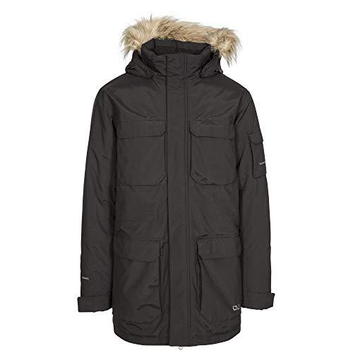 Trespass Mens Pixilation Deluxe Hooded Weatherproof Rain Jacket (XXL) ()