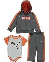 """Puma Baby Boys' """"Shadow Scope"""" 3-Piece Layette Set"""