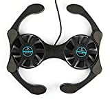 Foldable USB Laptop Cooling Pads With Double Fans