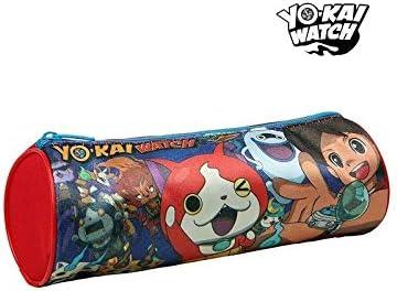 Yo-Kai Estuche Escolar Cilíndrico 3826: Amazon.es: Hogar