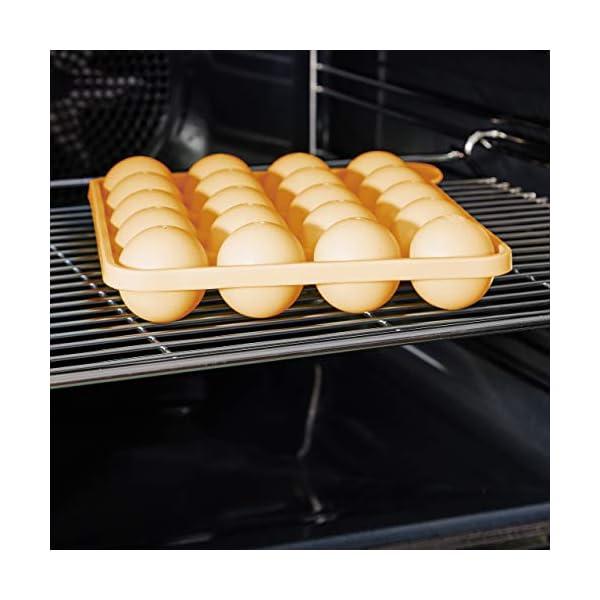 Lumaland Cuisine Teglia/Stampo da Forno in silicone da 20 Cake-pops o stick cake, inclusi 40 bastoncini ca. 22,5 x 18,5… 4 spesavip