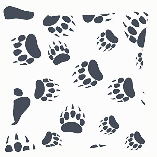 - Large beach pants Throw Pillow Covers Bear Claw Footprint Animals Wildlife Cotton Linen Cushion Cover Cases Pillowcases Sofa Home Decor 18