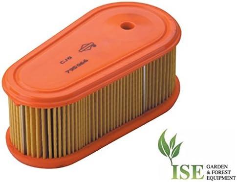 795066 796254 Ise/® Ersatz-Luftfilter f/ür Briggs /& Stratton Professional Series 7.75-8.75 ersetzt Teilenummern