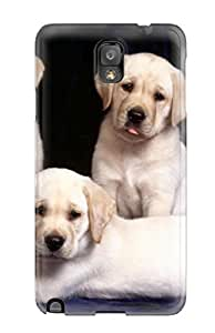 7290682K84173216 For Galaxy Protective Case, High Quality For Galaxy Note 3 Labrador Retriever Dog Skin Case Cover